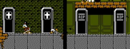 Duck Tales NES censure