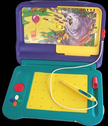 Console Sega Pico ouverte
