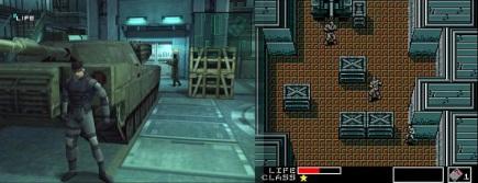 Evolution de la série Metal Gear