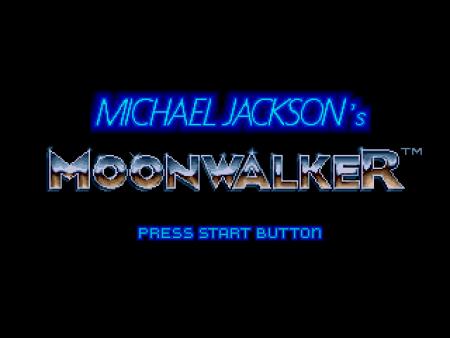 Michael Jackson Moonwalker Mega drive