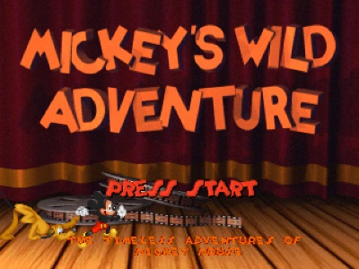 Mickey's Wild Adventure PS1