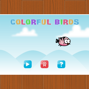 Colorful Birds - HTML5 Game