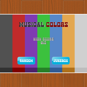 Musical Colors - HTML5 Game