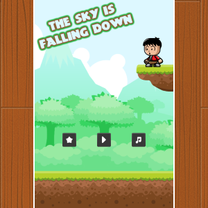 The Sky Is Falling Down - HTML5 Game